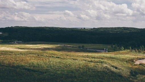 A view overlooking the Flight 93 National Memorial.