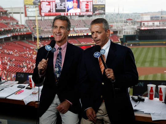 Chris Welsh (left) and Thom Brennaman are part of of