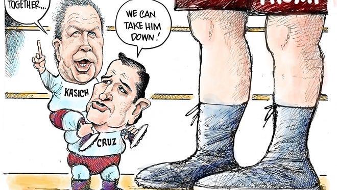 Cruz and Kasich team
