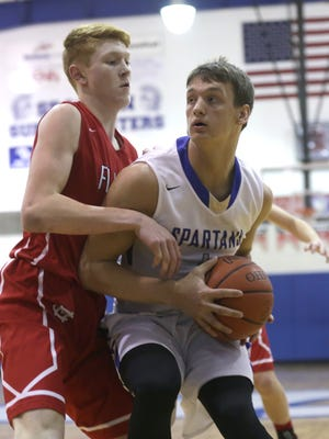 The St Peter's boys basketball team earned the No.1 seed in the Division IV Willard District at Sunday's tournament draw.