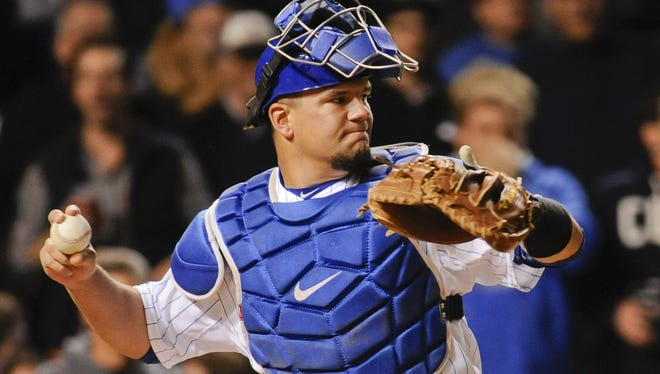 There is work left to be done for Kyle Schwarber behind the plate. He needs to receive pitches better as well as call games better.