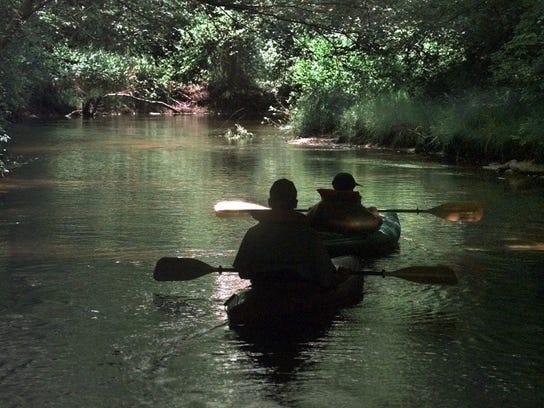 A great way to see the Pinelands is by kayak.