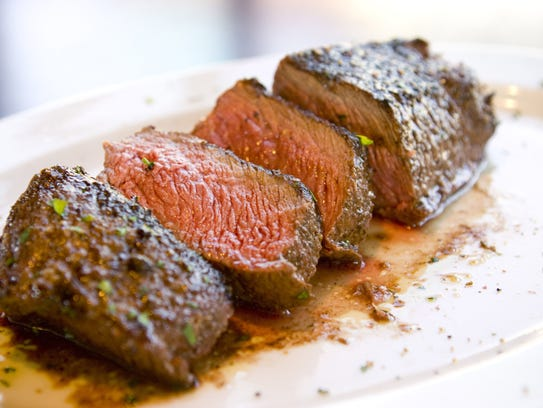 The Delmonico steak is just one of the offerings at