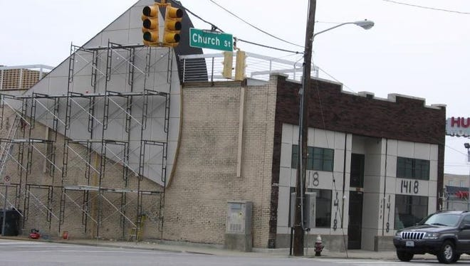 The Events @ 1418 building at 1418 Church St. could become home to strip club Deja Vu.