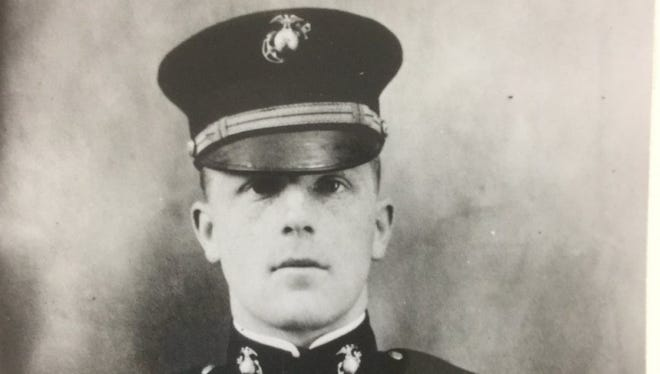 Marine Capt. George Hamilton survived a bloody World War I battle win honors, but perished in a plane crash near the Gettysburg battlefield in 1922.
