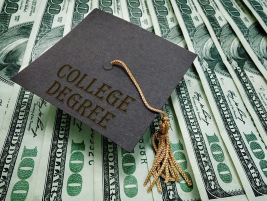 College Degree money