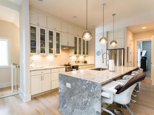 The kitchen of the Dolan/Helton home for sale at 1305