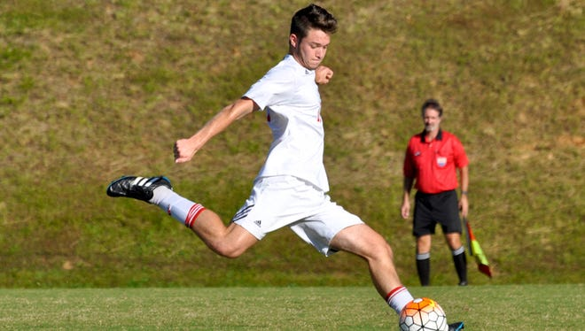Carolina Day's Mac Gourlay has committed to play college soccer for N.C. State.