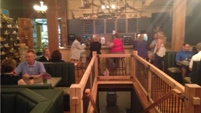 Diners try out The Market which moved to a new space downtown