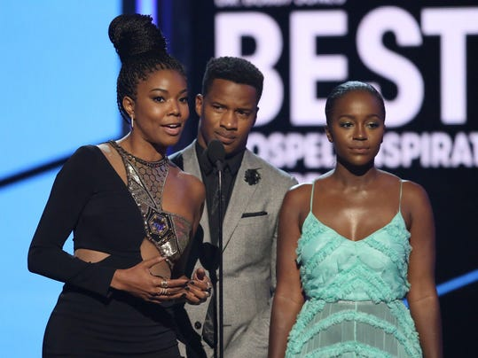 Gabrielle Union, Nate Parker, Aja Naomi King