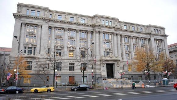 The John A. Wilson building at 1350 Pennsylvania Ave.,