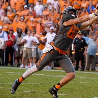 No more drops for Tennessee tight end Ethan Wolf