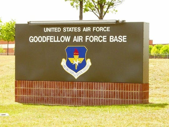 Goodfellow Air Force Base is located in San Angelo,