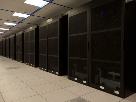 The room where the supercomputer sits must be kept