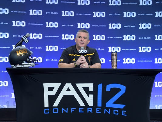 NCAA Football: Pac-12 Media Day
