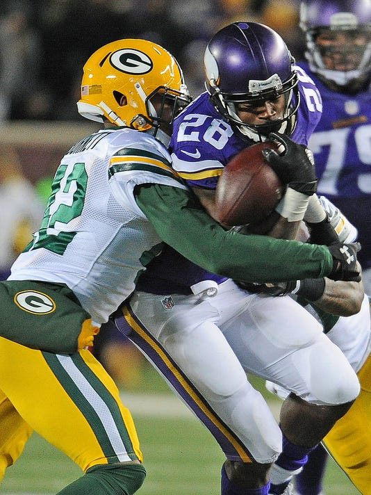 Adrian Peterson, Morgan Burnett