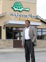 Parthiban Jayaraman and his business partner received a $2.8 million Small Business Administration-backed loan to finance the opening of a second Greene Turtle location. He owns The Greene Turtle in Dover and 7 Dunkin Donuts in New Castle County.