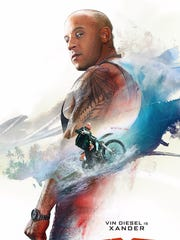 """The poster for """"XXX: The Return of Xander Cage."""""""