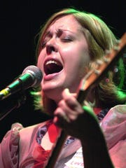 Corin Tucker, pictured in 2003.