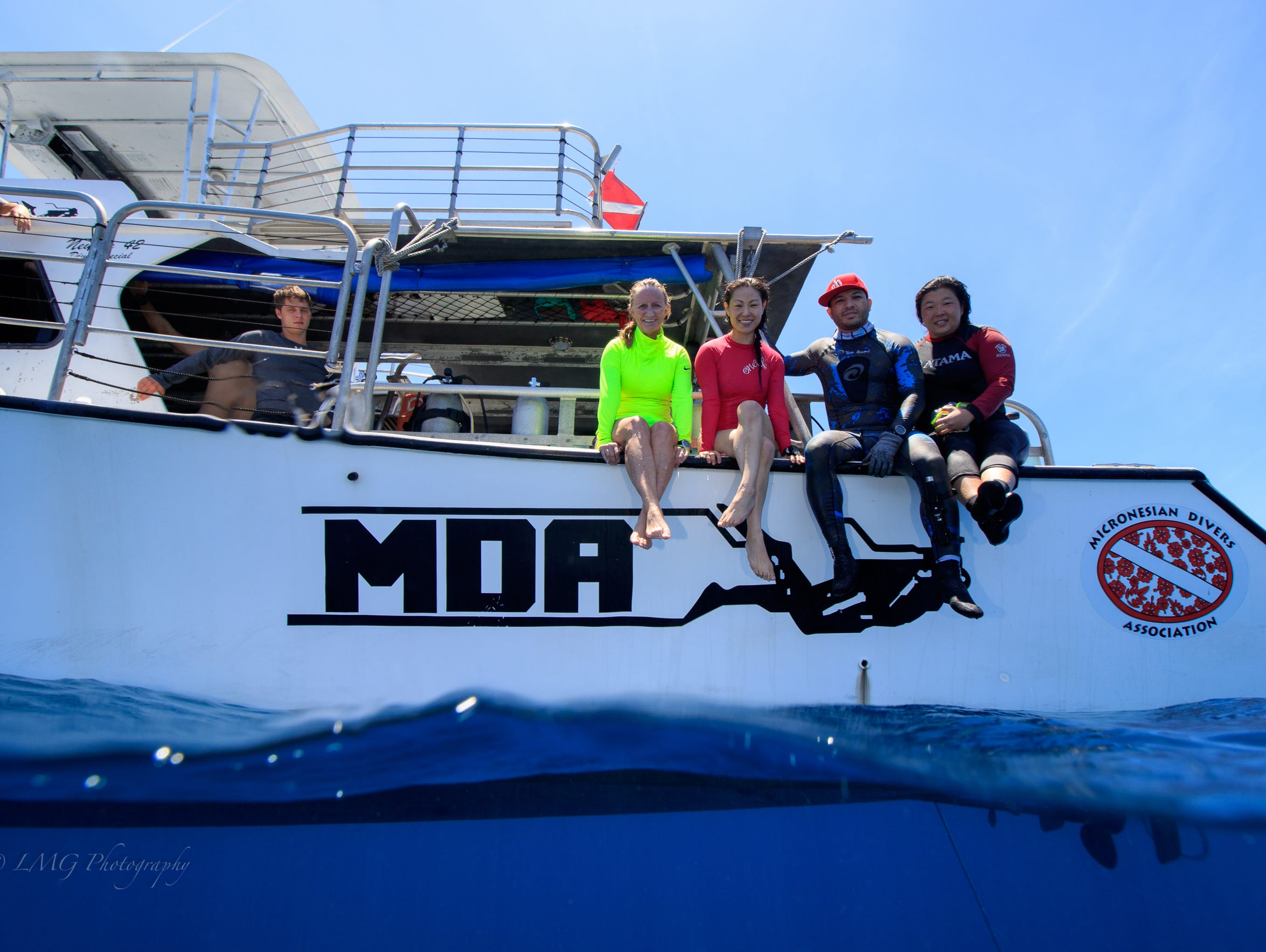 Micronesian Divers Association offers boat dives and