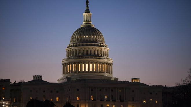The Capitol is seen at dawn in Washington. A government shutdown could be on the horizon.