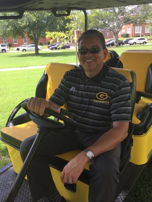 Grambling State University President Rick Gallot has a new ride.