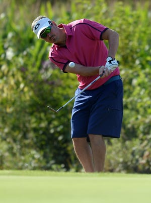 Ryan Chalfant during the 2014 Men's city amateur.