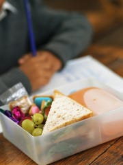 During the school year, free or reduced-price lunches