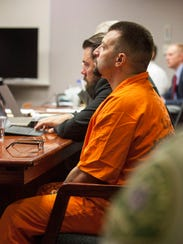 Mark Mair attends a preliminary hearing for murder