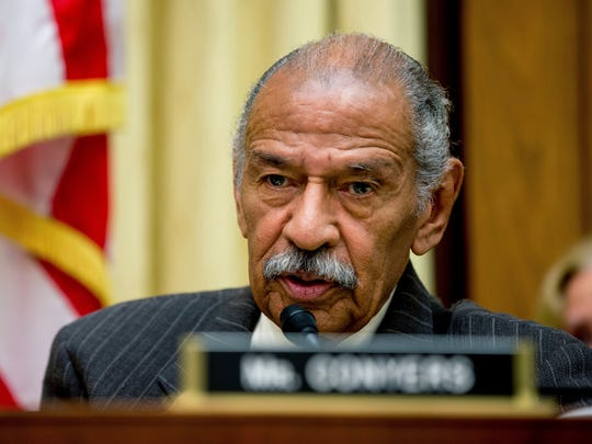 Facing allegations of sexual misconduct, Rep. John Conyers, D-Mich., resigned from the House in December.