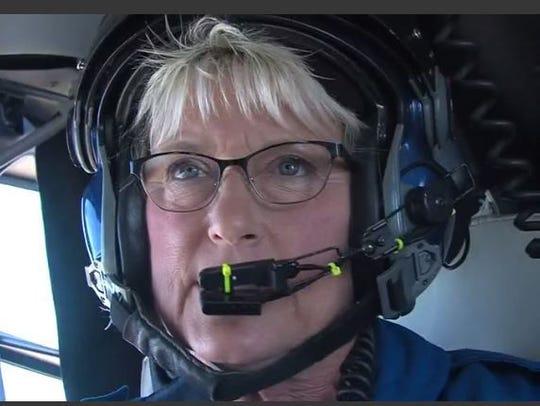 Pam Witt-Hillen has been a flight-registered nurse