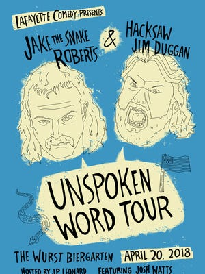 The Unspoken Word Tour comes to Lafayette April 20.