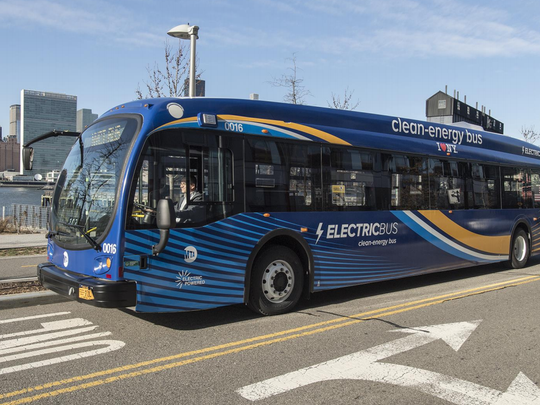 Electric bus manufacturer Proterra provided the Metropolitan
