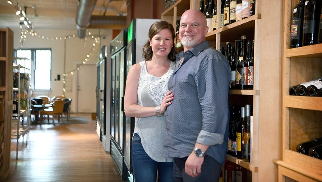 Lila and Cody Stokes have purchased Hops and Vines on Haywood Road in West Asheville and will begin doing some renovation and rebranding as Cork and Craft this month.