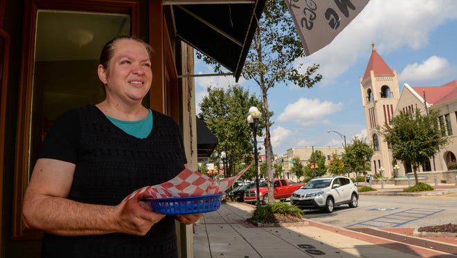 Renee Singleton and David Singleton opened Paradise Hot Dogs on September 9 at 420 S. Main St. in Anderson. It closed last month.