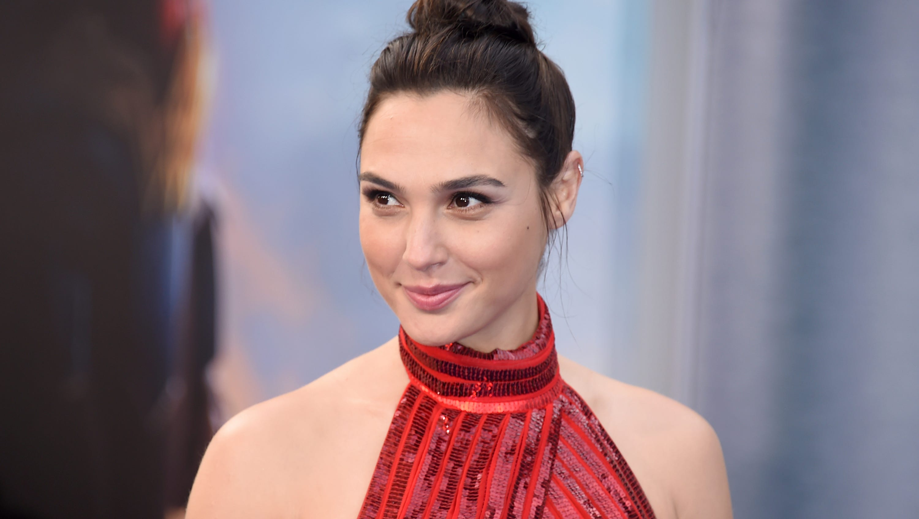 Gal Gadot Trades Wonder Woman Costume For Swimsuit During Girls Trip