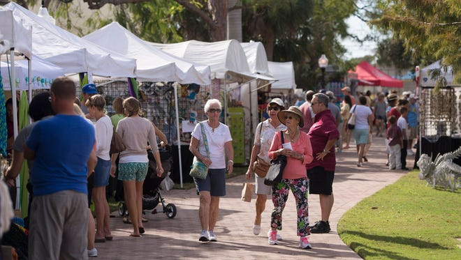 Art in the Park is Saturday and Sunday at Memorial Park in Stuart.
