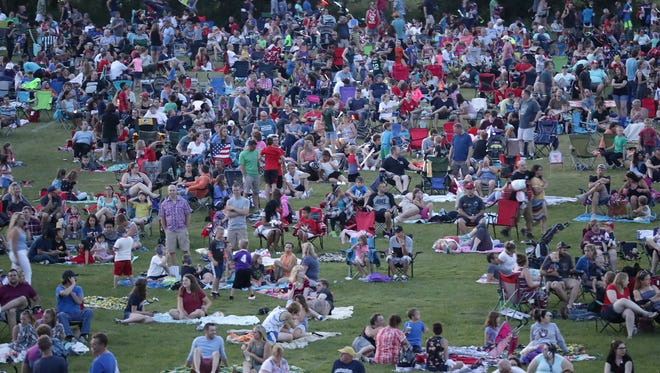The Fourth of July celebration in Memorial Park in Appleton is one of many large events on the local calendar this week.