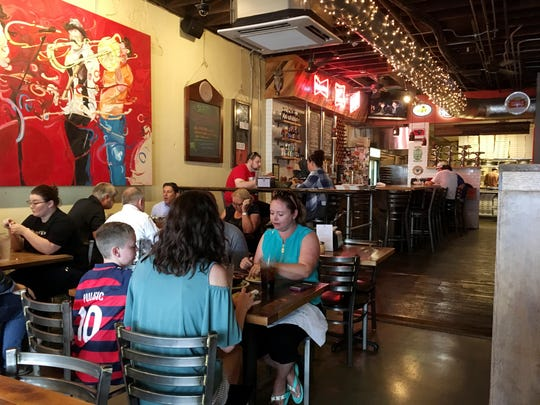 Five Points Pizza is packing the customers in at their