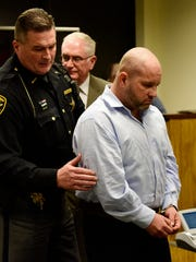 Former Sandusky County Sheriff Kyle Overmyer was sentenced in December 2016 to four years in prison after pleading guilty to 14 criminal charges, including 13 felonies.