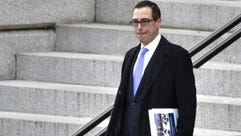 File photo taken in 2017 shows Steven Mnuchin,  President-elect