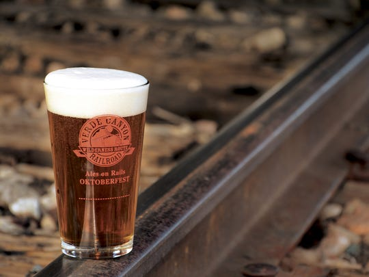 Ales on Rails is one of the special themed rides of the Verde Canyon Railroad.