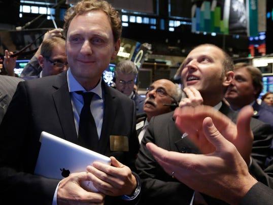 AP Wall Street Voxeljet