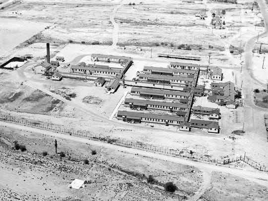A World War II prisoner of war camp for Germans was built at Papago Park near 64th Street and McDowell Road.