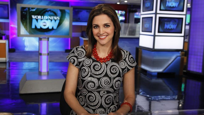 Former WCPO-TV weekend sports anchor Paula Faris begins co-anchoring 'GMA Weekend' on August 9, 2014.