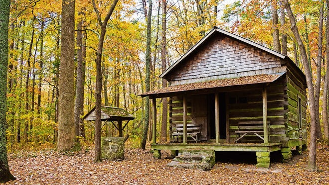 Green Mountain park is a 72-acre oasis of tranquility in Huntsville.