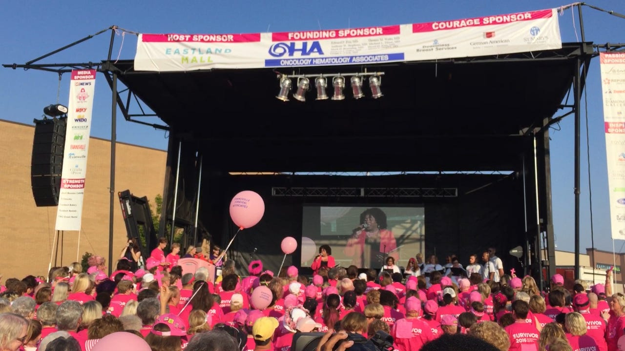 Sights and Sounds: 19th Annual Race for the Cure