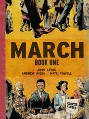 "Nate Powell will be disussing his work on the ""MARCH"""