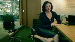 Facebook Chief Operating Officer Sheryl Sandberg. The