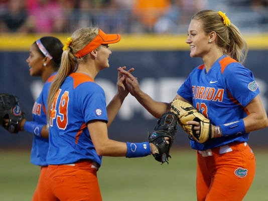 NCAA Florida Alabama Softball